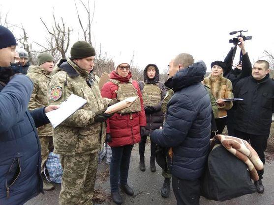 Украина забрала с неподконтрольной территории Луганской области 42 осужденных