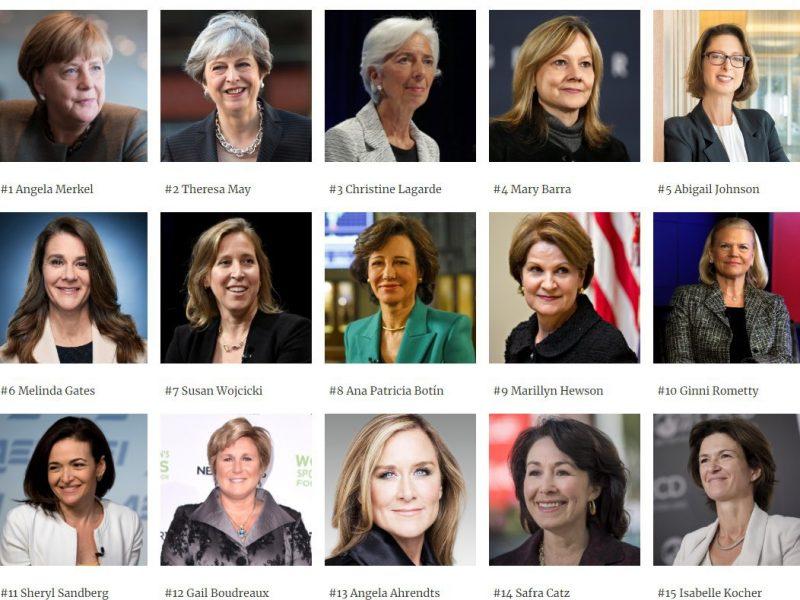 Меркель восьмой раз подряд возглавила список самых влиятельных женщин Forbes