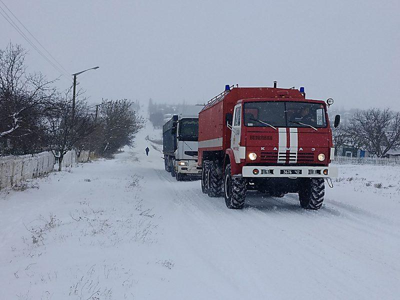 Спасатели Николаевщины проведут масштабные учения. На дорогах будет много спецтехники, жителей области просят не паниковать