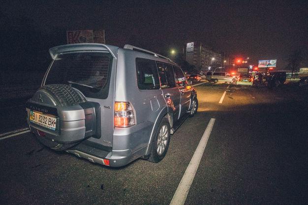 На въезде в Борисполь пьяный водитель устроил масштабное ДТП