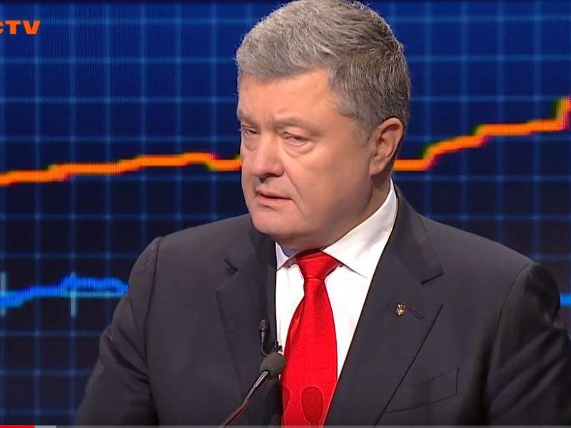 Порошенко выступил в «Свободе слова», Денисова потеряла сознание