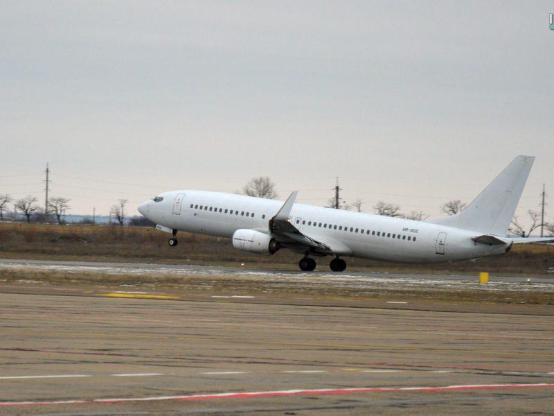 Николаевский аэропорт сегодня впервые отправил чартер в Египет и принял киевский рейс