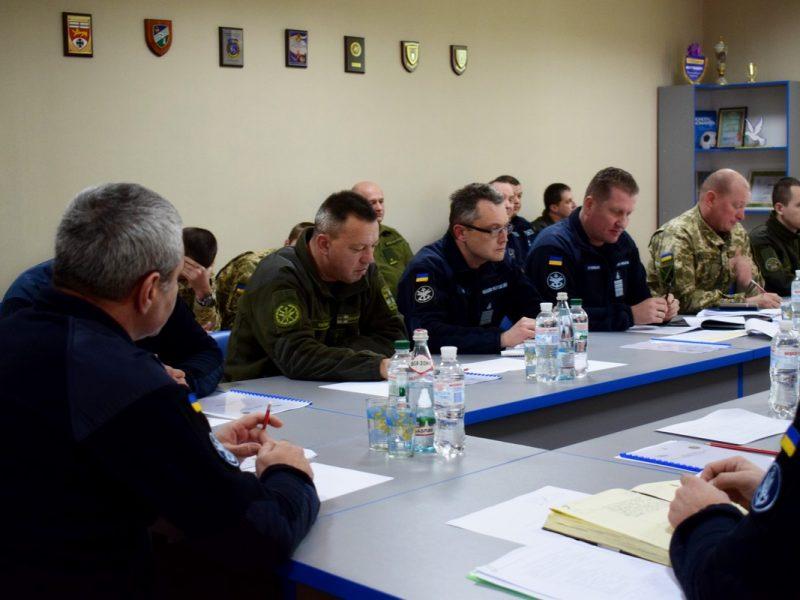 В Николаеве состоялось выездное заседание Военного совета ВМС ВС Украины. Рассматривали вопрос питания моряков