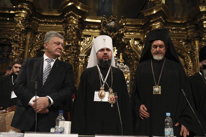 Епископа Епифания избрали главой Православной церкви в Украине