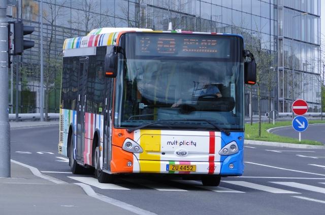 Весь общественный транспорт в Люксембурге станет бесплатным