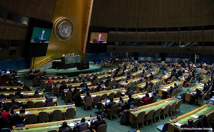 ООН собирает миллиард долларов для помощи пострадавшим от катаклизмов