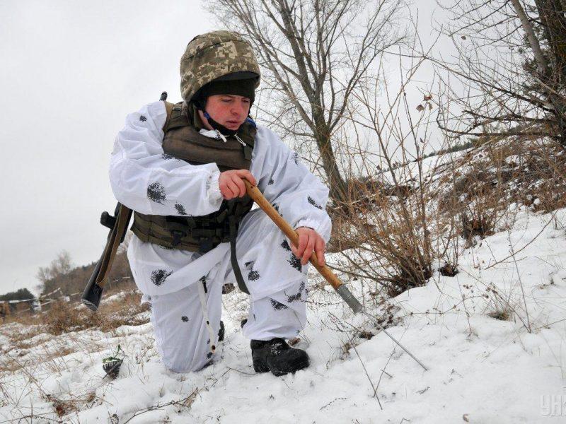 За прошедшие сутки на Донбассе ранен один украинский военнослужащий – Штаб ООС