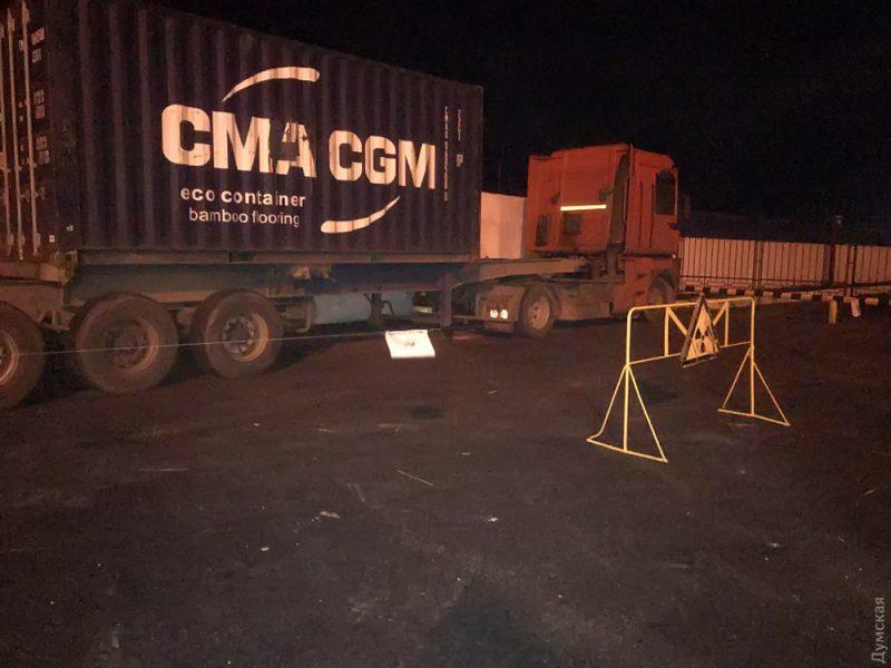 В Одесском порту обнаружили радиоактивный контейнер