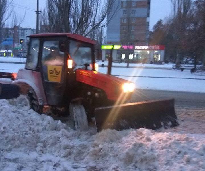 Проезжаемость дорог в Николаеве обеспечена, утверждает «ЭЛУ автодорог»
