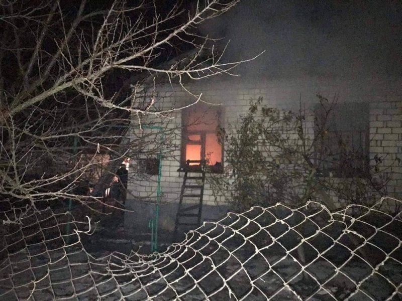 На Николаевщине на пожаре погиб пожилой мужчина