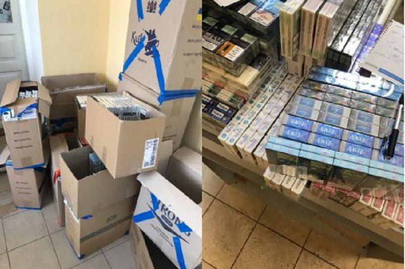 В одном из магазинов Николаева налоговая милиция изъяла 15 тысяч пачек сигарет без разрешительных документов