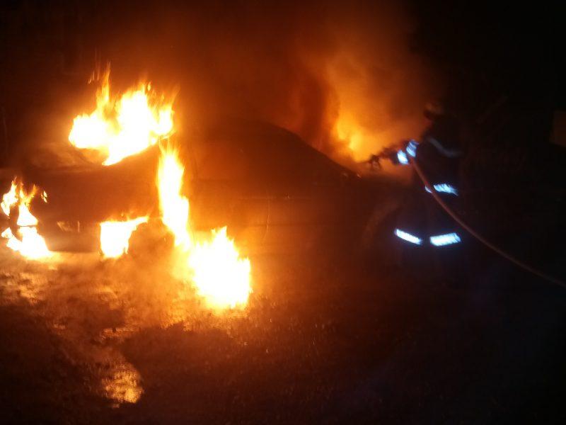 В Березнеговатом сгорел автомобиль
