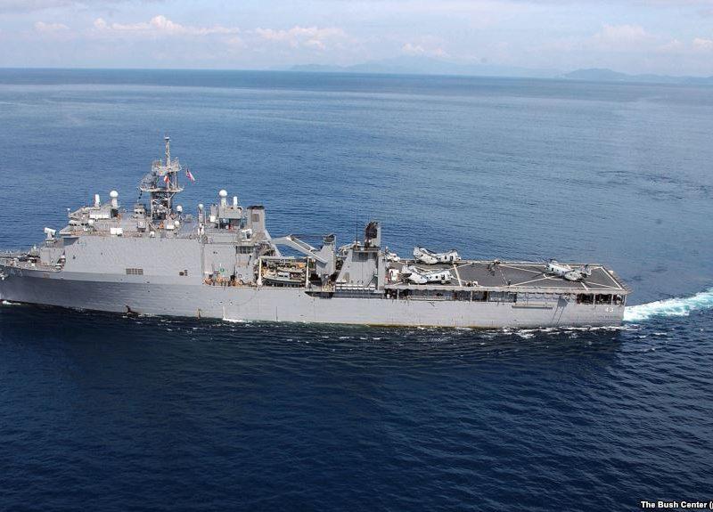 США отправили в Черное море десантный корабль своих Военно-морских сил для поддержания безопасности в регионе