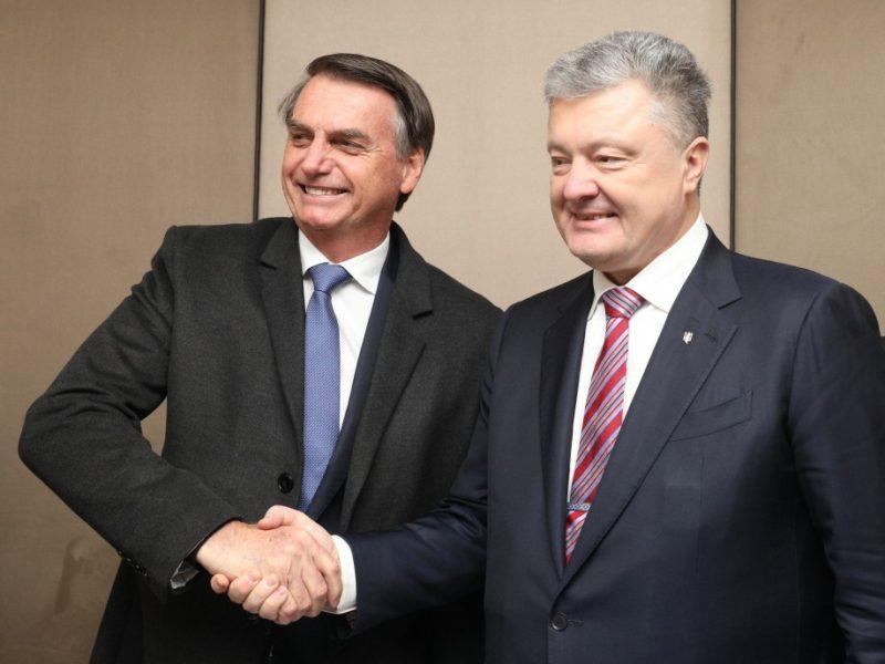Порошенко пригласил посетить Украину скандального президента Бразилии