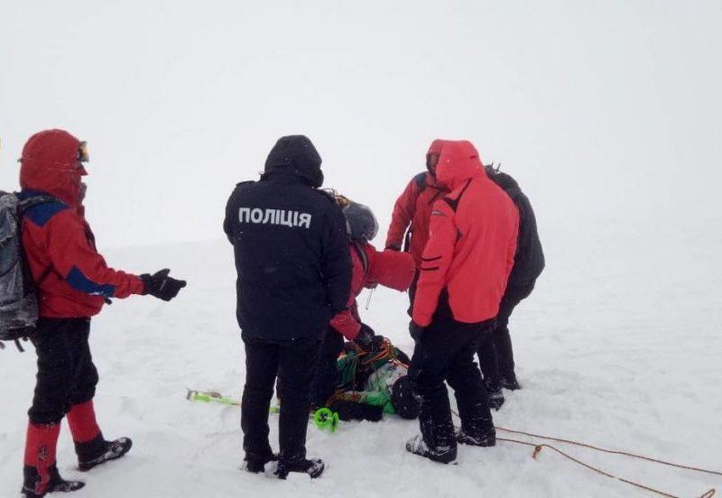 В Карпатах нашли еще одного из пяти пропавших туристов
