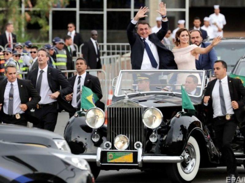 В Бразилии прошла инаугурация нового президента