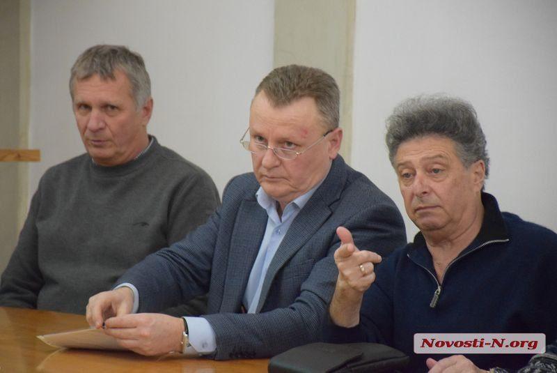 На градостроительном совете ужаснулись и раскритиковали проект реконструкции СК «Надежда» в Николаеве