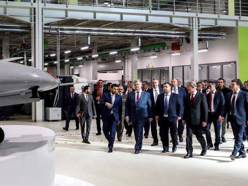 Порошенко заявил, что Украина закупит турецкие ударные беспилотники