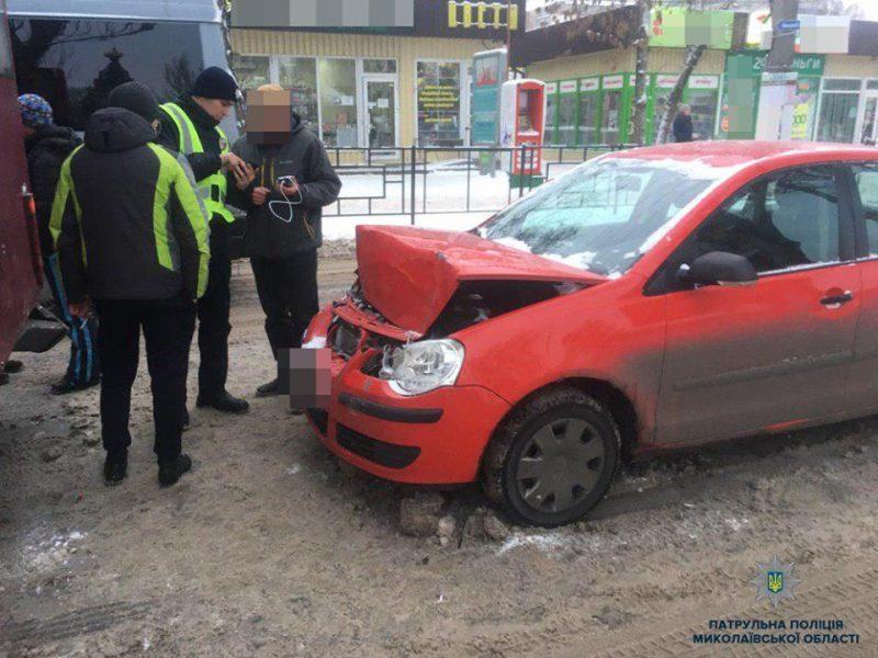 В Николаеве за день произошло 7 ДТП, есть пострадавшие – патрульные