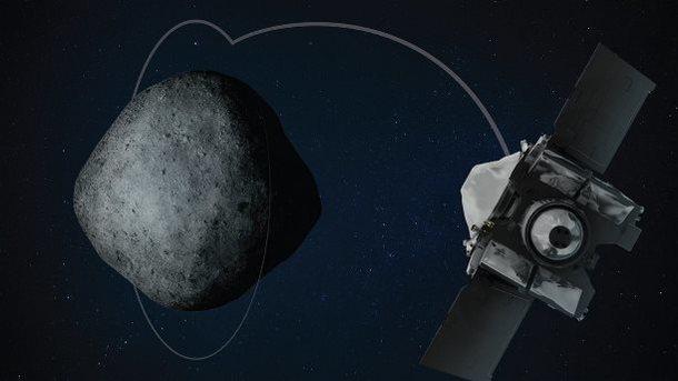 В первый день нового года NASA вывела на орбиту астероида космический зонд