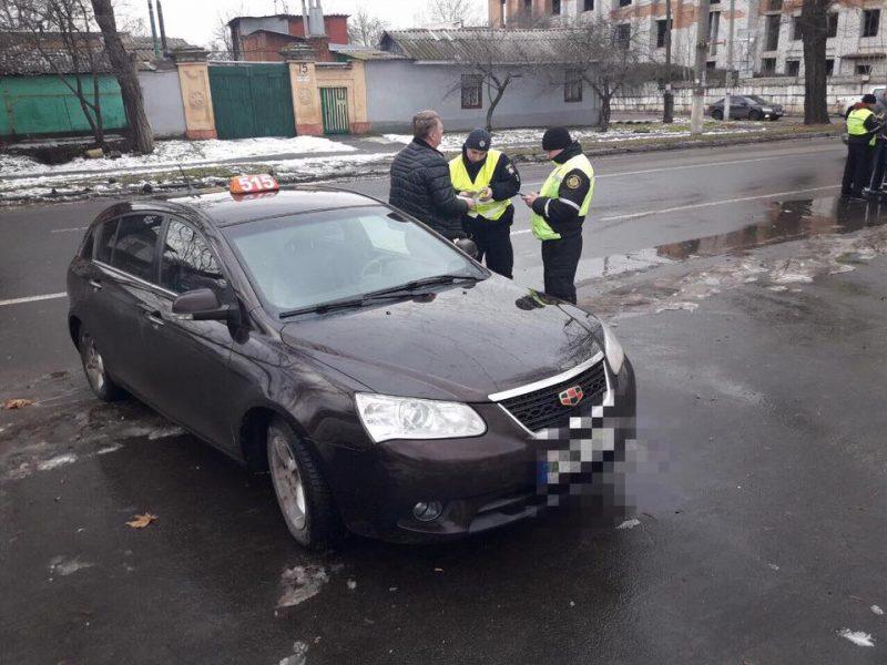 В Николаеве Укртрансбезопасность проверяла таксистов – нашла 16 нарушений