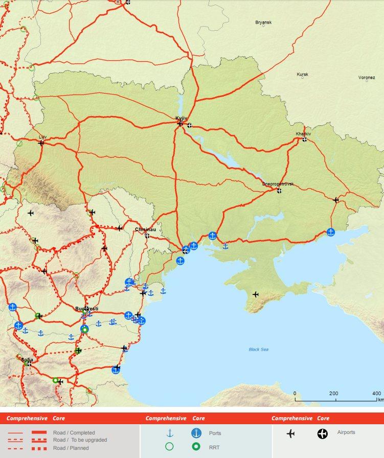 ЕБРР выделил Укрзализныце $100 млн. на модернизацию путей Трансъевропейской транспортной сети 1