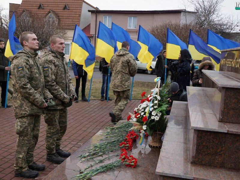 Николаевцы отметили годовщину легендарного сражения под Крутами