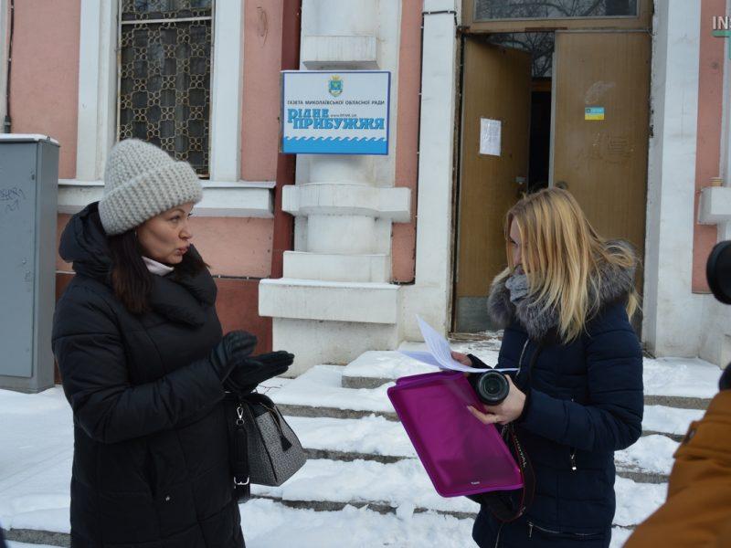 В Николаеве ОГА выселяет редакцию Центра журналистских расследований — те заявляют, что аренда продлена