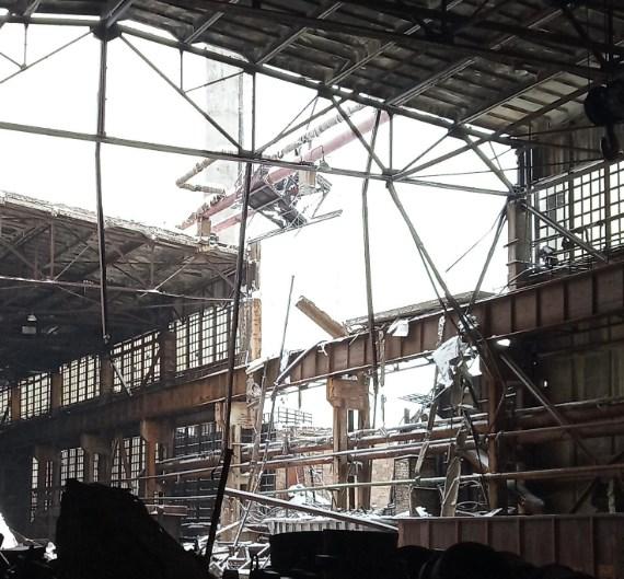 На меткомбинате в неподконтрольном Алчевске обрушилась крыша