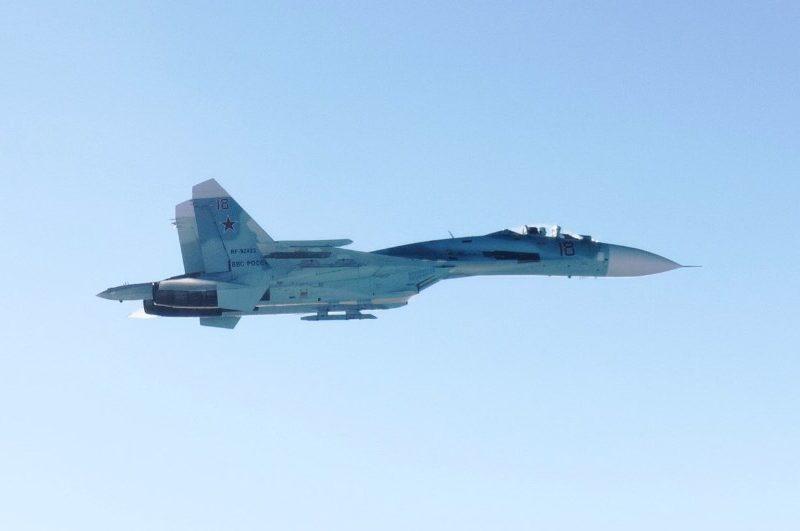 Финляндия подняла истребитель для перехвата российских Су-27