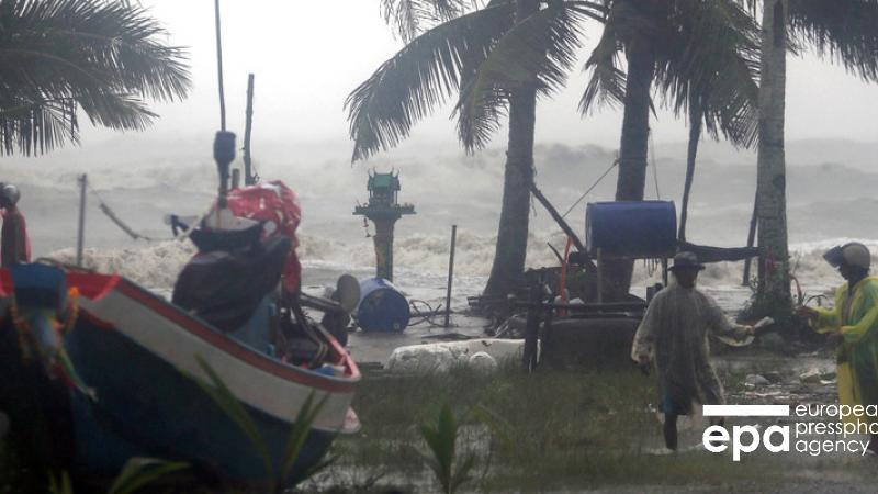 В Таиланде из-за урагана Пабук погибли три человека