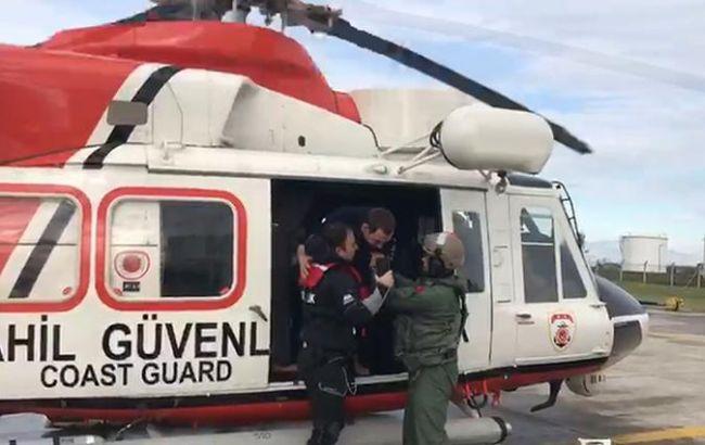 В Черном море затонуло судно, на борту которого было 9 украинцев