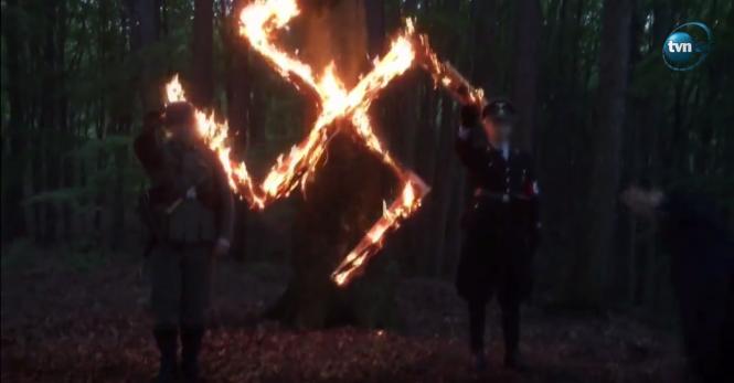 В Польше шесть человек будут судить за празднование дня рождения Гитлера