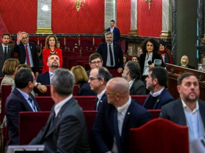 В Испании начался судебный процесс над каталонскими политиками