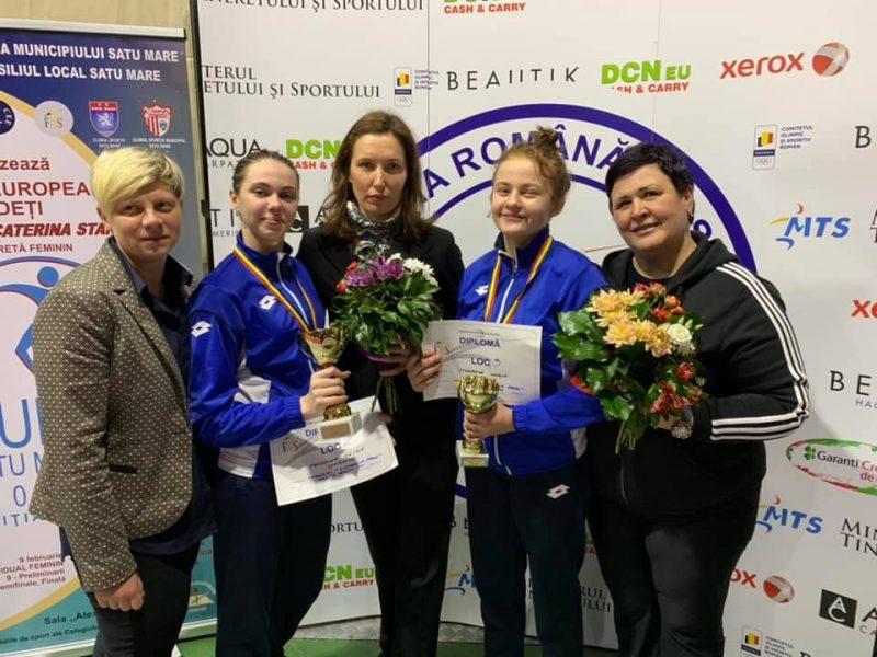 ЕКЦ-2019 Сату-Маре: юные рапиристки из Николаева вернулись с медалями
