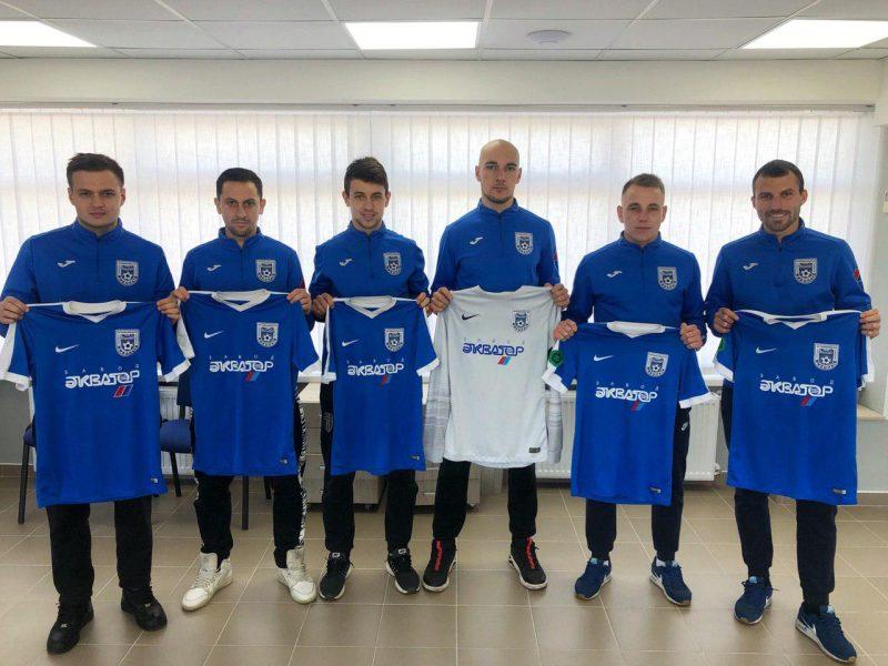 МФК «Николаев» представил своих новичков