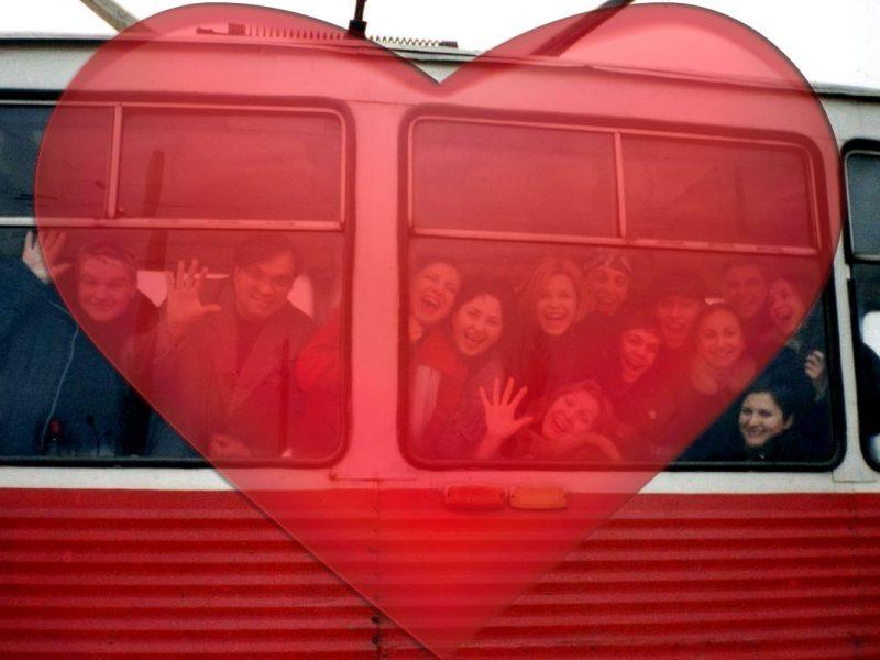 В День Святого Валентина по Николаеву будет курсировать «Трамвайчик влюбленных»