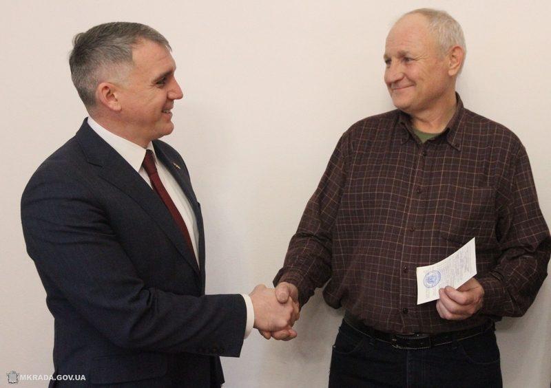 В Николаеве ветеран-«афганец» получил жилье