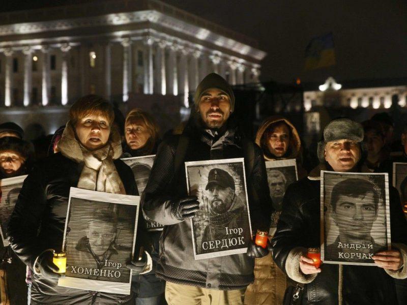 Две трети тех, кто убивал майдановцев, бежали в Россию. Заявление Луценко