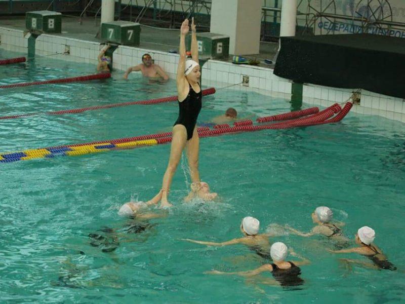 Николаевские спортсмены выступили на зимнем чемпионате по синхронному плаванию