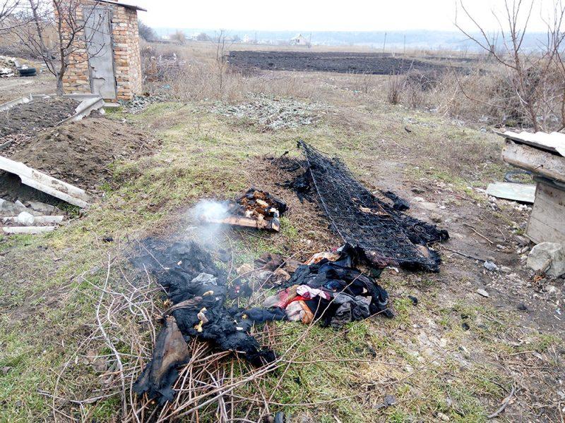 На пожаре в Веселиново спасены две женщины