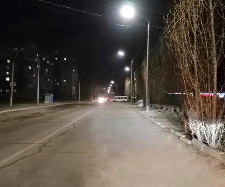 Дорогу вокруг Намыва теперь освещают LED-светильники