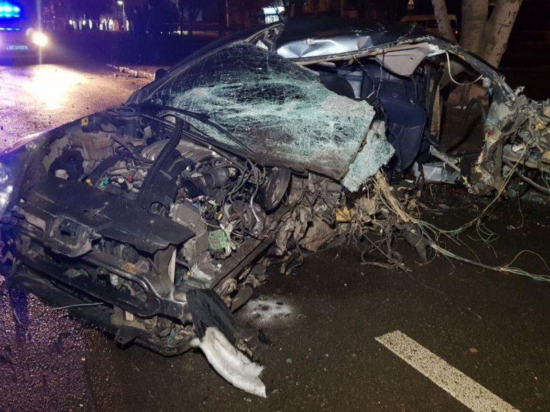 Женщина, выжившая в жуткой аварии в центре Николаева, отказалась от госпитализации и пошла домой