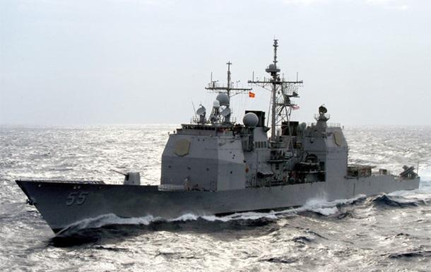 У побережья США столкнулись два корабля