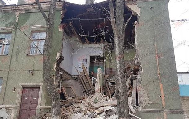В Запорожской области обрушилось здание бывшего завода