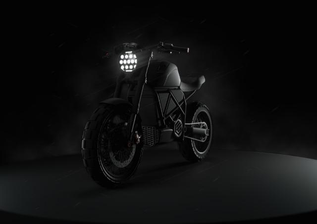 В Украине разработали и готовят к выпуску прототип мощного электромотоцикла ScrAmper