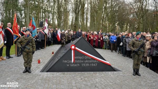 В Щецине открыли памятник «жертвам украинских националистов»