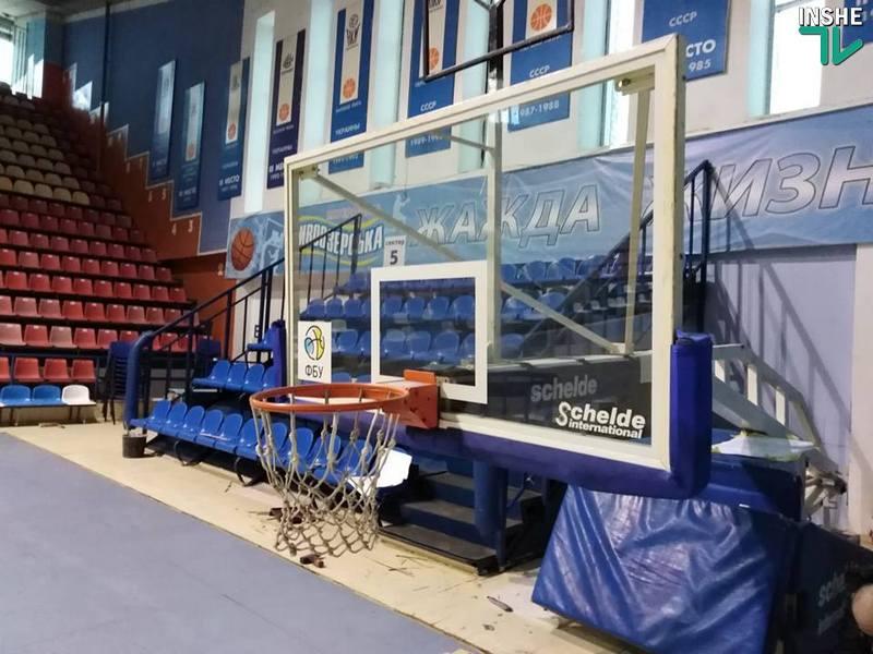 То ли плакать, то ли радоваться: главная баскетбольная арена Николаева «выходит» из ремонта