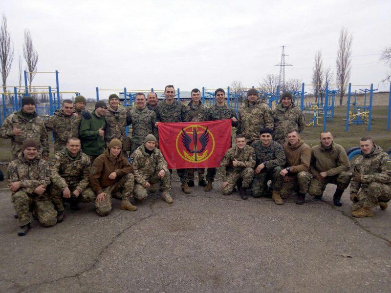 В Николаеве инструкторы из США провели курсы лидерства для украинских морпехов