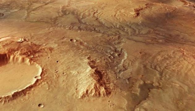 На Марсе обнаружили русла рек